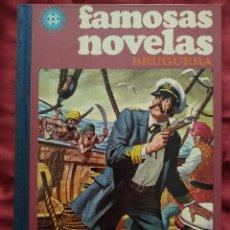 Tebeos: FAMOSAS NOVELAS VOLUMEN VII AÑO 1977 EDITORIAL BRUGUERA. Lote 210837965