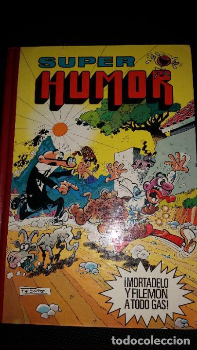 SUPER HUMOR MORTADELO Y FILEMÓN XXXV. EDICIONES BRUGUERA. 1986 SUPER HUMOR Nº 35 (Tebeos y Comics - Bruguera - Super Humor)