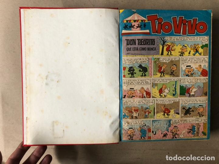 Tebeos: TOMO CON 24 TEBEOS TÍO VIVO (EDITORIAL BRUGUERA 1966/67) ENCUADERNADOS EN TAPA DURA. - Foto 3 - 210936319