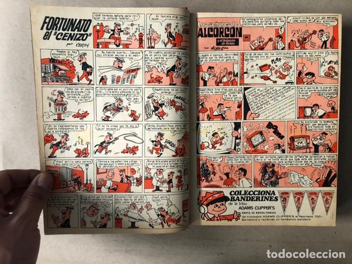 Tebeos: TOMO CON 24 TEBEOS TÍO VIVO (EDITORIAL BRUGUERA 1966/67) ENCUADERNADOS EN TAPA DURA. - Foto 6 - 210936319