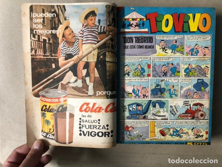 Tebeos: TOMO CON 24 TEBEOS TÍO VIVO (EDITORIAL BRUGUERA 1966/67) ENCUADERNADOS EN TAPA DURA. - Foto 7 - 210936319