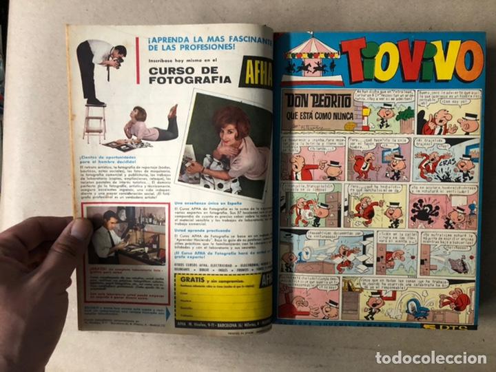 Tebeos: TOMO CON 24 TEBEOS TÍO VIVO (EDITORIAL BRUGUERA 1966/67) ENCUADERNADOS EN TAPA DURA. - Foto 9 - 210936319