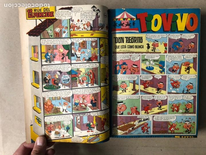 Tebeos: TOMO CON 24 TEBEOS TÍO VIVO (EDITORIAL BRUGUERA 1966/67) ENCUADERNADOS EN TAPA DURA. - Foto 11 - 210936319