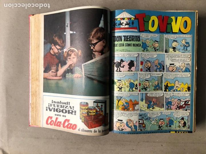 Tebeos: TOMO CON 24 TEBEOS TÍO VIVO (EDITORIAL BRUGUERA 1966/67) ENCUADERNADOS EN TAPA DURA. - Foto 13 - 210936319