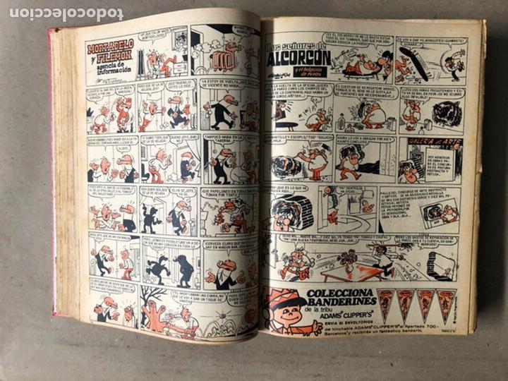 Tebeos: TOMO CON 24 TEBEOS TÍO VIVO (EDITORIAL BRUGUERA 1966/67) ENCUADERNADOS EN TAPA DURA. - Foto 14 - 210936319
