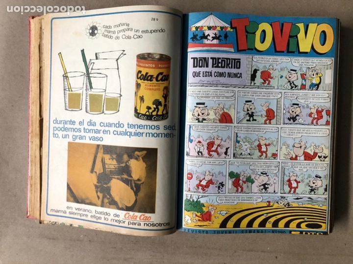 Tebeos: TOMO CON 24 TEBEOS TÍO VIVO (EDITORIAL BRUGUERA 1966/67) ENCUADERNADOS EN TAPA DURA. - Foto 17 - 210936319