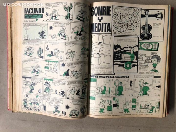 Tebeos: TOMO CON 24 TEBEOS TÍO VIVO (EDITORIAL BRUGUERA 1966/67) ENCUADERNADOS EN TAPA DURA. - Foto 20 - 210936319