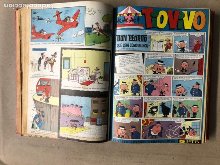 Tebeos: TOMO CON 24 TEBEOS TÍO VIVO (EDITORIAL BRUGUERA 1966/67) ENCUADERNADOS EN TAPA DURA. - Foto 21 - 210936319
