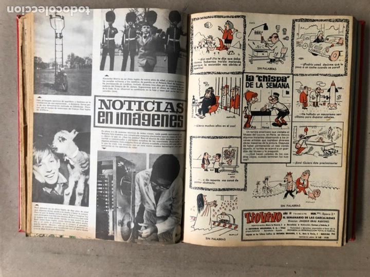 Tebeos: TOMO CON 24 TEBEOS TÍO VIVO (EDITORIAL BRUGUERA 1966/67) ENCUADERNADOS EN TAPA DURA. - Foto 22 - 210936319
