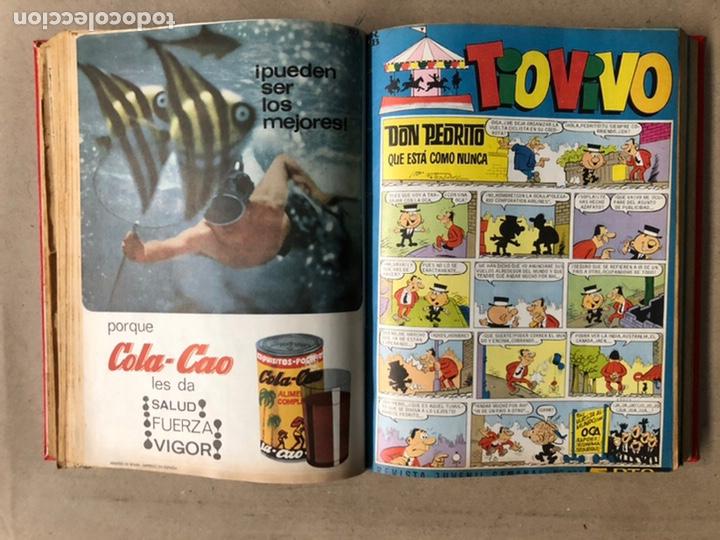 Tebeos: TOMO CON 24 TEBEOS TÍO VIVO (EDITORIAL BRUGUERA 1966/67) ENCUADERNADOS EN TAPA DURA. - Foto 23 - 210936319