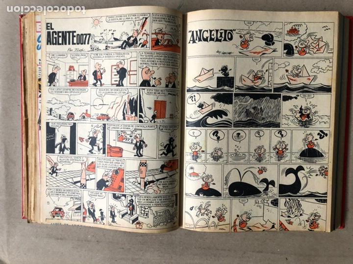 Tebeos: TOMO CON 24 TEBEOS TÍO VIVO (EDITORIAL BRUGUERA 1966/67) ENCUADERNADOS EN TAPA DURA. - Foto 24 - 210936319