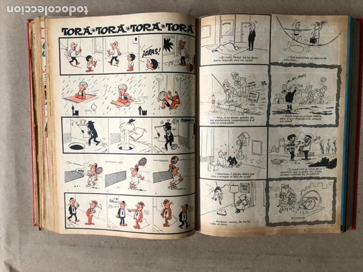Tebeos: TOMO CON 24 TEBEOS TÍO VIVO (EDITORIAL BRUGUERA 1966/67) ENCUADERNADOS EN TAPA DURA. - Foto 26 - 210936319