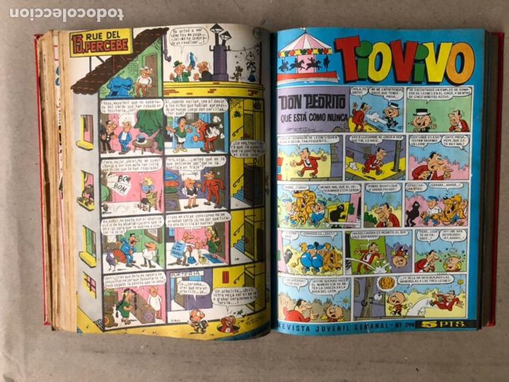 Tebeos: TOMO CON 24 TEBEOS TÍO VIVO (EDITORIAL BRUGUERA 1966/67) ENCUADERNADOS EN TAPA DURA. - Foto 27 - 210936319