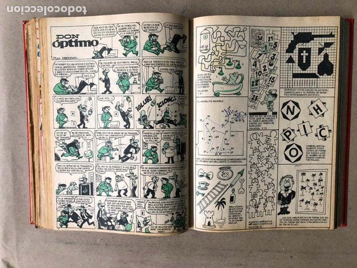 Tebeos: TOMO CON 24 TEBEOS TÍO VIVO (EDITORIAL BRUGUERA 1966/67) ENCUADERNADOS EN TAPA DURA. - Foto 28 - 210936319