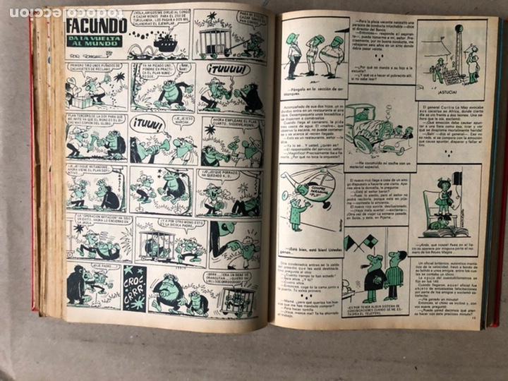 Tebeos: TOMO CON 24 TEBEOS TÍO VIVO (EDITORIAL BRUGUERA 1966/67) ENCUADERNADOS EN TAPA DURA. - Foto 30 - 210936319