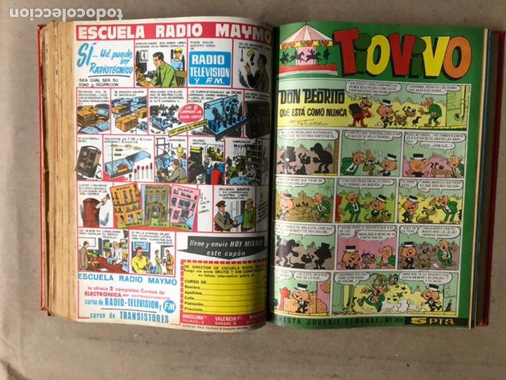 Tebeos: TOMO CON 24 TEBEOS TÍO VIVO (EDITORIAL BRUGUERA 1966/67) ENCUADERNADOS EN TAPA DURA. - Foto 31 - 210936319