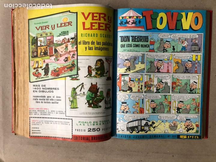 Tebeos: TOMO CON 24 TEBEOS TÍO VIVO (EDITORIAL BRUGUERA 1966/67) ENCUADERNADOS EN TAPA DURA. - Foto 33 - 210936319