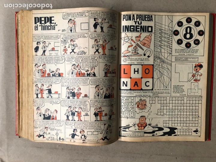 Tebeos: TOMO CON 24 TEBEOS TÍO VIVO (EDITORIAL BRUGUERA 1966/67) ENCUADERNADOS EN TAPA DURA. - Foto 34 - 210936319