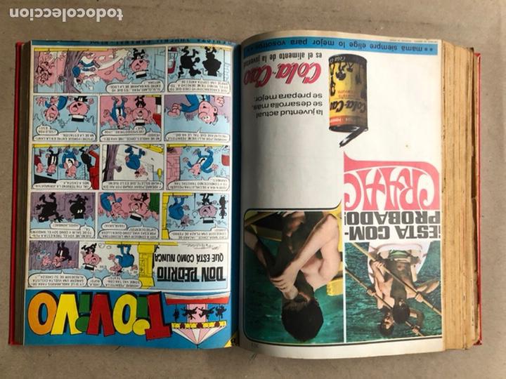 Tebeos: TOMO CON 24 TEBEOS TÍO VIVO (EDITORIAL BRUGUERA 1966/67) ENCUADERNADOS EN TAPA DURA. - Foto 35 - 210936319