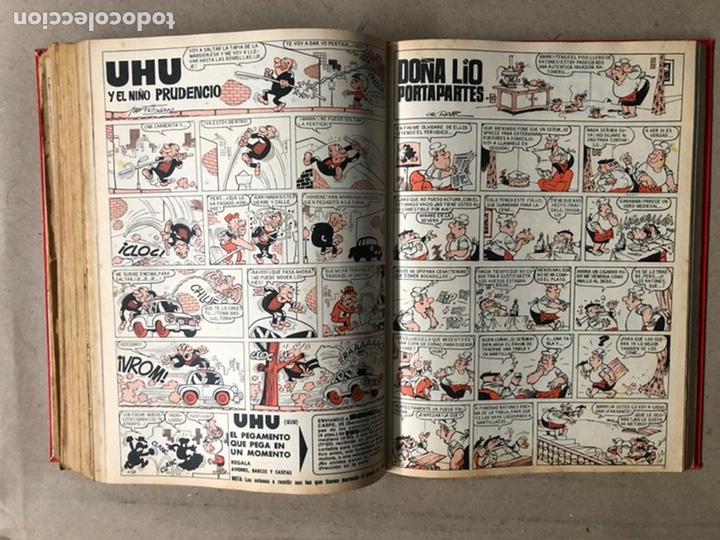Tebeos: TOMO CON 24 TEBEOS TÍO VIVO (EDITORIAL BRUGUERA 1966/67) ENCUADERNADOS EN TAPA DURA. - Foto 38 - 210936319