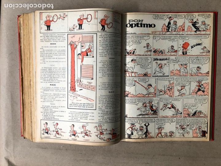 Tebeos: TOMO CON 24 TEBEOS TÍO VIVO (EDITORIAL BRUGUERA 1966/67) ENCUADERNADOS EN TAPA DURA. - Foto 40 - 210936319