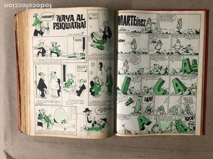 Tebeos: TOMO CON 24 TEBEOS TÍO VIVO (EDITORIAL BRUGUERA 1966/67) ENCUADERNADOS EN TAPA DURA. - Foto 42 - 210936319