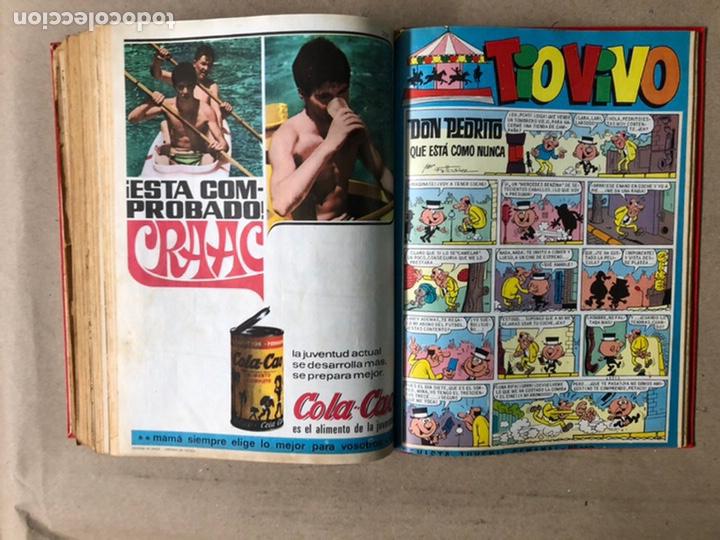 Tebeos: TOMO CON 24 TEBEOS TÍO VIVO (EDITORIAL BRUGUERA 1966/67) ENCUADERNADOS EN TAPA DURA. - Foto 43 - 210936319