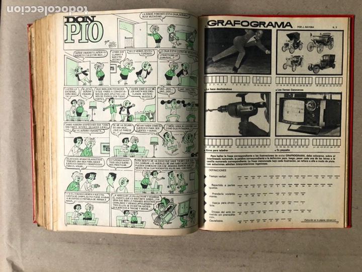 Tebeos: TOMO CON 24 TEBEOS TÍO VIVO (EDITORIAL BRUGUERA 1966/67) ENCUADERNADOS EN TAPA DURA. - Foto 44 - 210936319