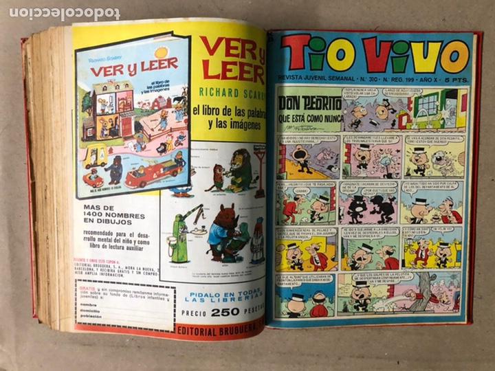 Tebeos: TOMO CON 24 TEBEOS TÍO VIVO (EDITORIAL BRUGUERA 1966/67) ENCUADERNADOS EN TAPA DURA. - Foto 45 - 210936319