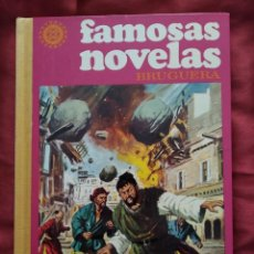 Tebeos: FAMOSAS NOVELAS VOLUMEN XIII AÑO 1978 EDITORIAL BRUGUERA. Lote 210936619