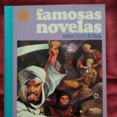 Tebeos: FAMOSAS NOVELAS VOLUMEN XVII AÑO 1979 EDITORIAL BRUGUERA. Lote 210936817