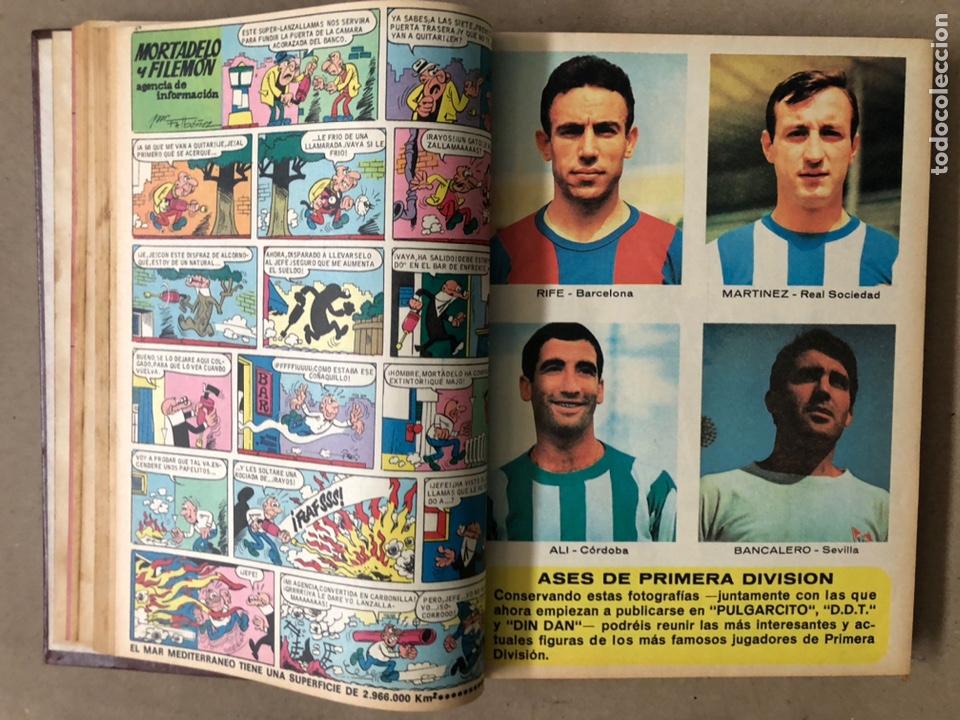 Tebeos: TOMO CON 15 TEBEOS TIO VIVO (EDITORIAL BRUGUERA 1967/68/69) ENCUADERNADOS EN TAPAS DURAS. - Foto 8 - 210939431