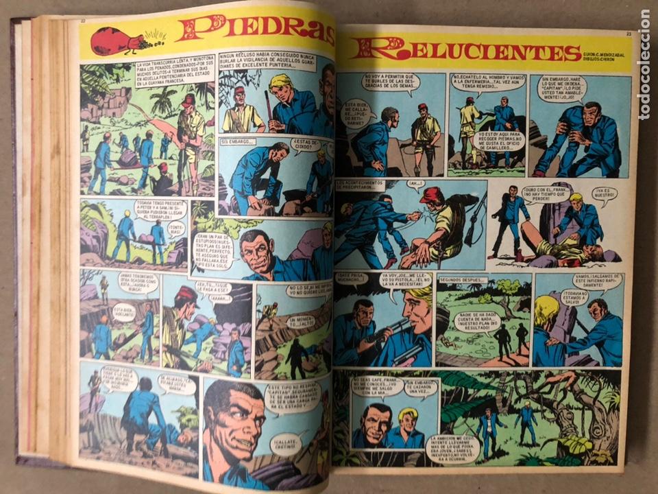 Tebeos: TOMO CON 15 TEBEOS TIO VIVO (EDITORIAL BRUGUERA 1967/68/69) ENCUADERNADOS EN TAPAS DURAS. - Foto 10 - 210939431