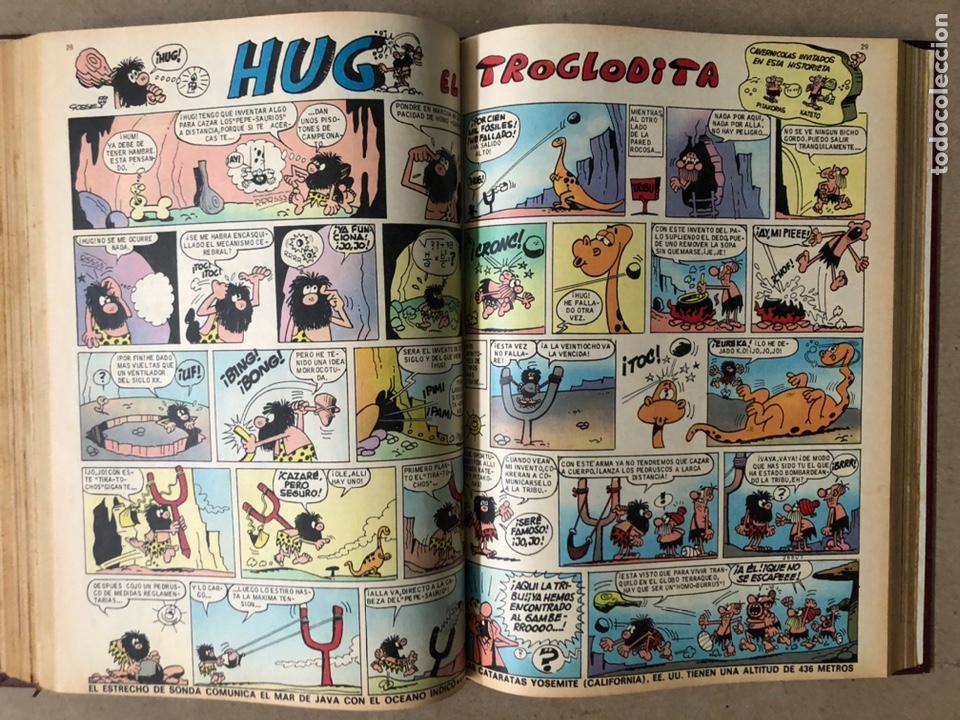 Tebeos: TOMO CON 15 TEBEOS TIO VIVO (EDITORIAL BRUGUERA 1967/68/69) ENCUADERNADOS EN TAPAS DURAS. - Foto 19 - 210939431