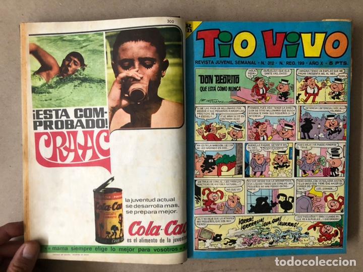 Tebeos: TOMO CON 14 TEBEOS TÍO VIVO (EDITORIAL BRUGUERA 1966/67) ENCUADERNADOS EN TAPA DURA. - Foto 4 - 210941081