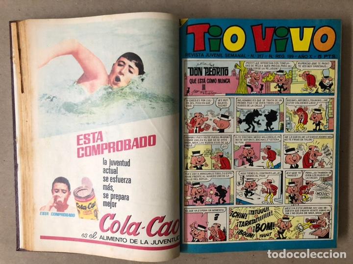Tebeos: TOMO CON 14 TEBEOS TÍO VIVO (EDITORIAL BRUGUERA 1966/67) ENCUADERNADOS EN TAPA DURA. - Foto 6 - 210941081