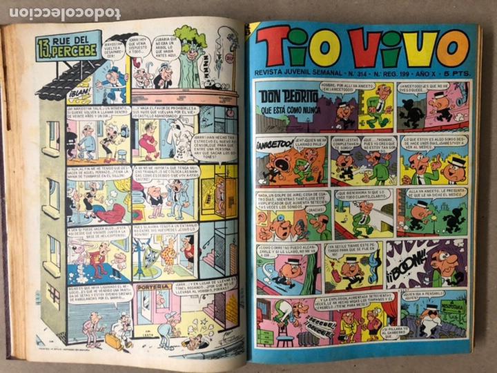 Tebeos: TOMO CON 14 TEBEOS TÍO VIVO (EDITORIAL BRUGUERA 1966/67) ENCUADERNADOS EN TAPA DURA. - Foto 7 - 210941081