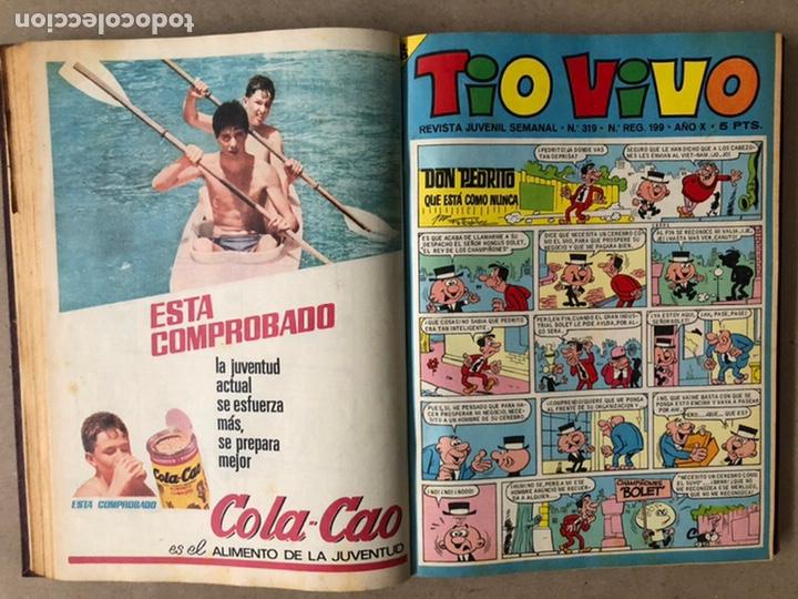 Tebeos: TOMO CON 14 TEBEOS TÍO VIVO (EDITORIAL BRUGUERA 1966/67) ENCUADERNADOS EN TAPA DURA. - Foto 9 - 210941081