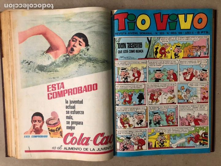 Tebeos: TOMO CON 14 TEBEOS TÍO VIVO (EDITORIAL BRUGUERA 1966/67) ENCUADERNADOS EN TAPA DURA. - Foto 11 - 210941081