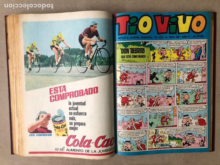 Tebeos: TOMO CON 14 TEBEOS TÍO VIVO (EDITORIAL BRUGUERA 1966/67) ENCUADERNADOS EN TAPA DURA. - Foto 13 - 210941081