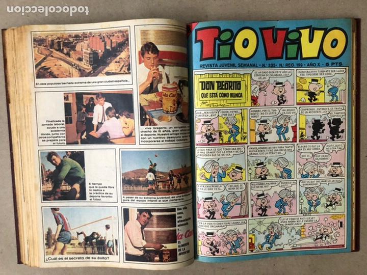Tebeos: TOMO CON 14 TEBEOS TÍO VIVO (EDITORIAL BRUGUERA 1966/67) ENCUADERNADOS EN TAPA DURA. - Foto 14 - 210941081