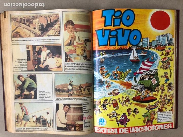 Tebeos: TOMO CON 14 TEBEOS TÍO VIVO (EDITORIAL BRUGUERA 1966/67) ENCUADERNADOS EN TAPA DURA. - Foto 16 - 210941081