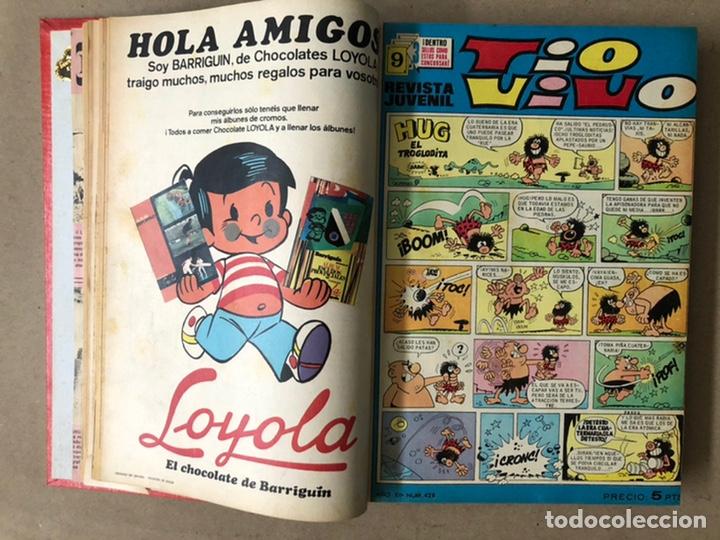 Tebeos: TOMO CON 19 TEBEOS TÍO VIVO (EDITORIAL BRUGUERA 1968/69) ENCUADERNADOS EN TAPA DURA. - Foto 5 - 210943825