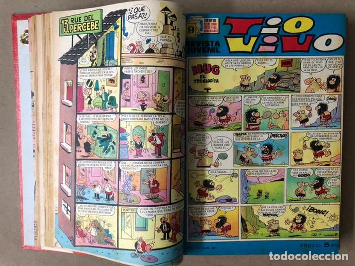 Tebeos: TOMO CON 19 TEBEOS TÍO VIVO (EDITORIAL BRUGUERA 1968/69) ENCUADERNADOS EN TAPA DURA. - Foto 6 - 210943825