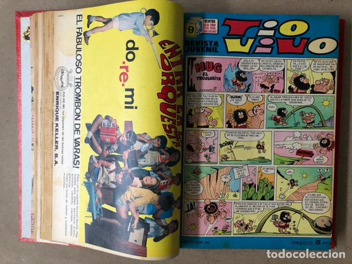 Tebeos: TOMO CON 19 TEBEOS TÍO VIVO (EDITORIAL BRUGUERA 1968/69) ENCUADERNADOS EN TAPA DURA. - Foto 7 - 210943825