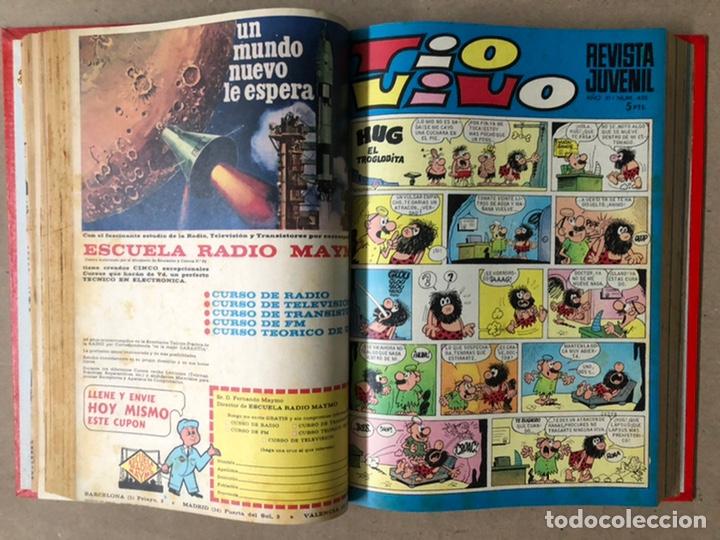 Tebeos: TOMO CON 19 TEBEOS TÍO VIVO (EDITORIAL BRUGUERA 1968/69) ENCUADERNADOS EN TAPA DURA. - Foto 9 - 210943825