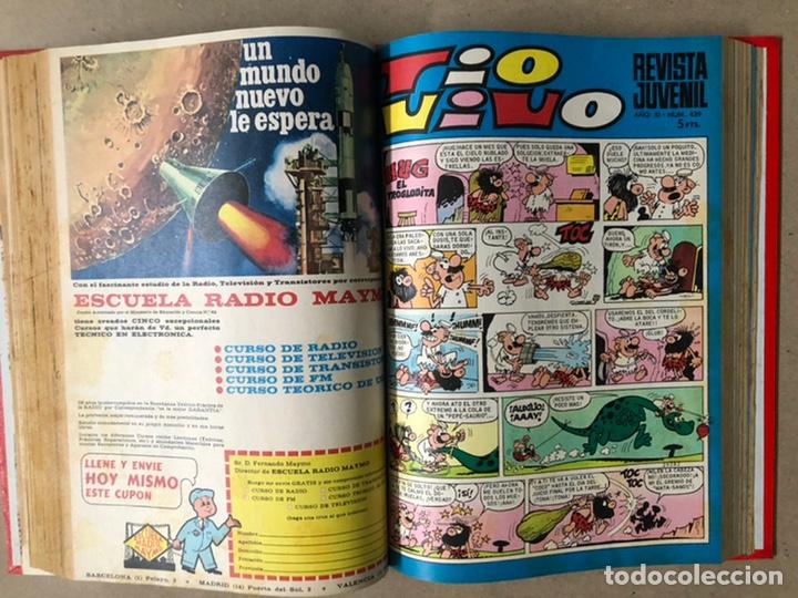 Tebeos: TOMO CON 19 TEBEOS TÍO VIVO (EDITORIAL BRUGUERA 1968/69) ENCUADERNADOS EN TAPA DURA. - Foto 13 - 210943825