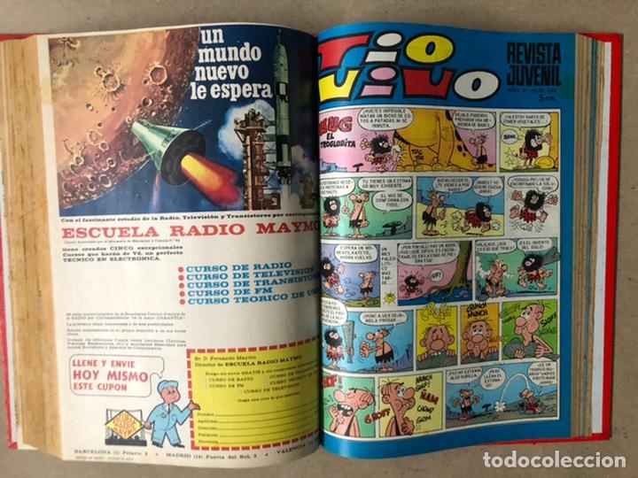 Tebeos: TOMO CON 19 TEBEOS TÍO VIVO (EDITORIAL BRUGUERA 1968/69) ENCUADERNADOS EN TAPA DURA. - Foto 17 - 210943825