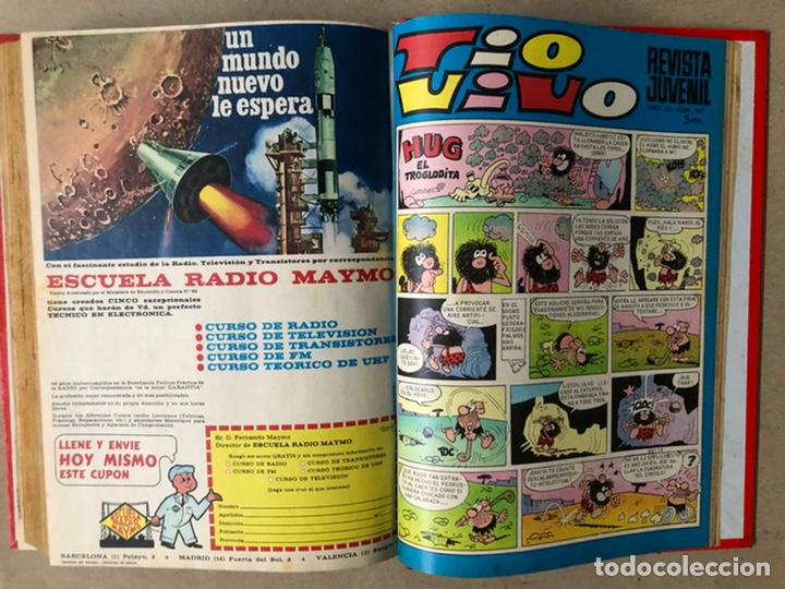 Tebeos: TOMO CON 19 TEBEOS TÍO VIVO (EDITORIAL BRUGUERA 1968/69) ENCUADERNADOS EN TAPA DURA. - Foto 21 - 210943825
