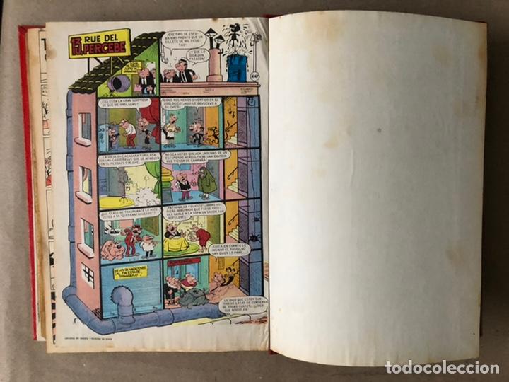 Tebeos: TOMO CON 19 TEBEOS TÍO VIVO (EDITORIAL BRUGUERA 1968/69) ENCUADERNADOS EN TAPA DURA. - Foto 22 - 210943825